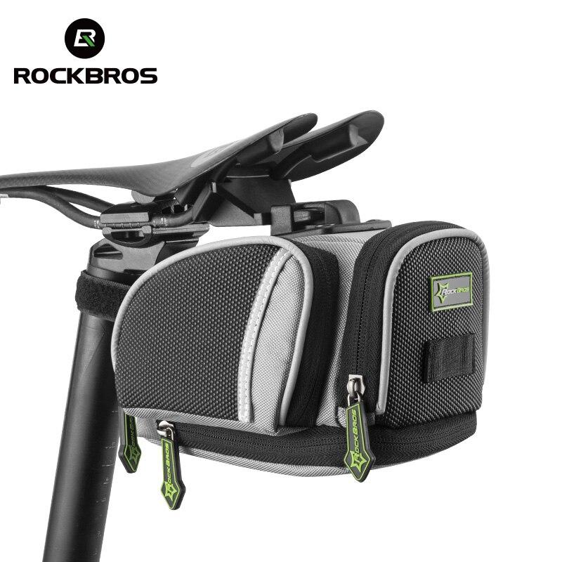 ROCKBROS Сумки на велосипеда под седлом Дорожное велосипедное седло мешок MTB сиденье Велосипедная сумка неподвижный механизм Велосипедные акс...
