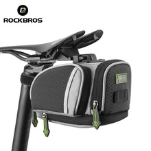 ROCKBROS Cycling Saddle Bags Mountain Road Bike MTB Seat Post Bag Fixe