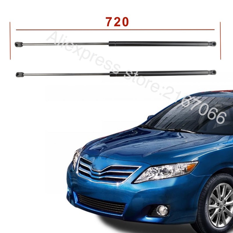 2 pcs for toyota camry 2006 2007 2008 2009 acv40 front hood gas lift support shock strut in. Black Bedroom Furniture Sets. Home Design Ideas