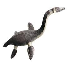 Имитация Змея шеи Дракон динозавр животное модель пластиковая игрушка Морская жизнь рыба дракон Реалистичная доистория динозавр игрушка Simu