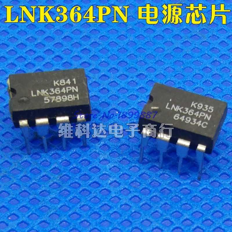 10 قطعة/الوحدة LNK364PN DIP7 LNK364P DIP LNK364 364PN DIP-7 جديدة ومبتكرة IC في المخزون