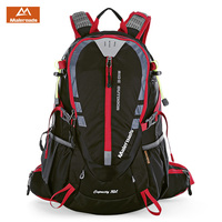 Maleroads 30L Outdoor Sports Backpack Hiking Camping Water Resistant Nylon Travel Luggage Bike Rucksack Bag With Rain Cover