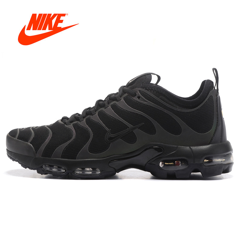 Original New Arrival Authentic Nike Air Max Plus Tn Ultra 3M Men's Breathable Running Shoes Sport Outdoor Sneakers 898015-002 ocube tri fold ultra slim tpu silicon back folio stand holder pu leather case cover for apple ipad 6 ipad air 2 9 7 tablet