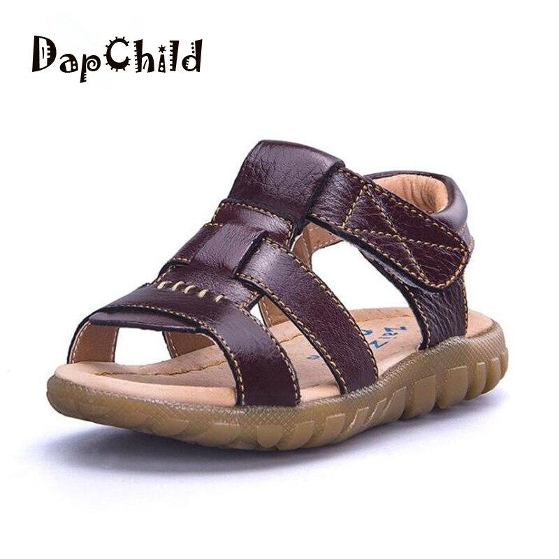7c323553241 DapChild επώνυμα αγόρια σανδάλια δερμάτινα καλοκαίρια κορίτσια ...