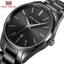 Reloj Hombre mini focu Simple Marca de Moda Casual de Negocios Relojes Hombres Fecha de Cuarzo Resistente Al Agua Reloj Para Hombre Relogio masculino