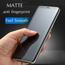 Soft Matte Film For Samsung Galaxy S7 edge S8 S9 Plus Note 8 9 3D Full Cover Protective PET Frosted Screen Protector (Not Glass)