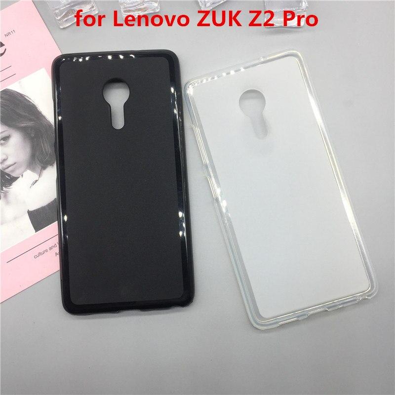 Case Soft Silicon Phone Para for Lenovo ZUK Z2 Pro Luxury TPU Fundas Protector Full Cover Shell Black Cases Original Coque
