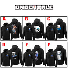 OHCOMICS Game Anime Undertale Sans Cotton Casual Hooded Hoodie Warm Coat Sweatshirt