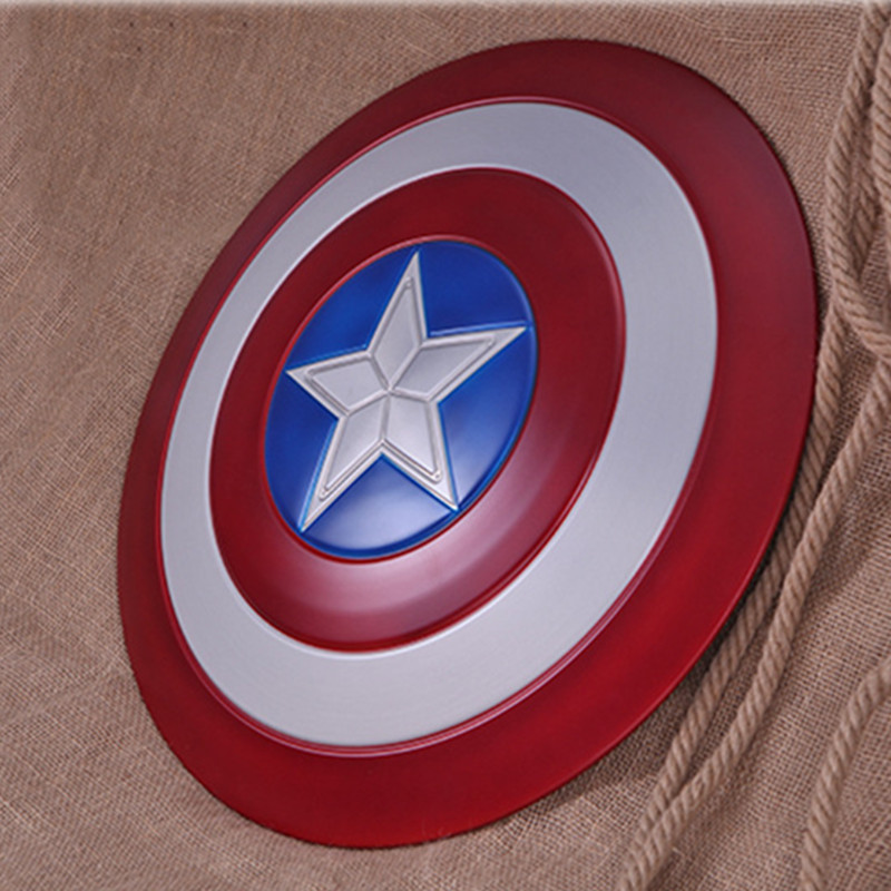 Avengers:Infinity War Superhero Steven Rogers Captain America Shield Metal Film Plate Prop Perfect Version COSPLAY Props L496