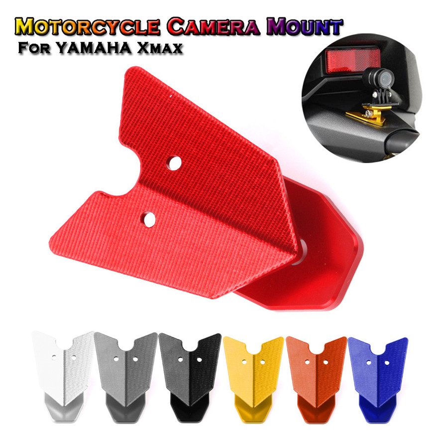 Motorcycle Camera Mount Driving Recorder Support Bracket GoPro For YAMAHA Xmax Modification Accessories High Quality Practical L