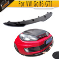 Golf 6 GTI fibra de carbono do Amortecedor Dianteiro spoiler Fit For VW MK6 GTI Bumper 2010-2013