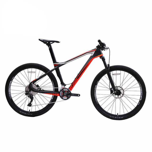JAVA FIAMMA 29″ Carbon Mountain Bike with XT Group Aluminium Wheels 33 speed Hydraulic Disc Brake AIR Fork 29er MTB Bicycle