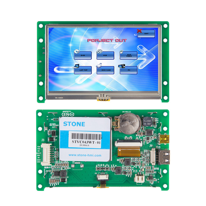 4.3 Inch Full New Replace Used LCD Touch Screen For Industrial Monitor4.3 Inch Full New Replace Used LCD Touch Screen For Industrial Monitor