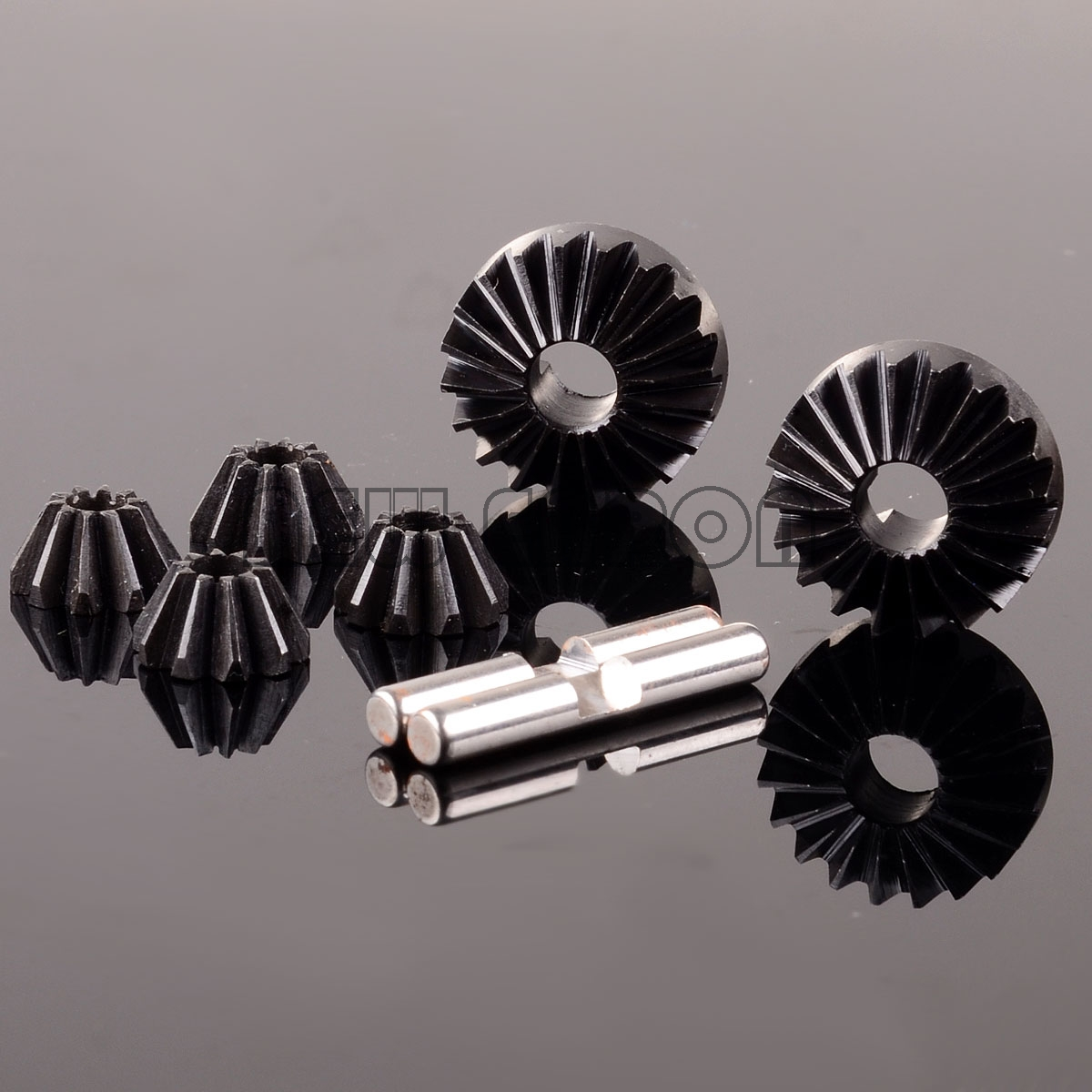 1:8 Hard Steel Bevel Gear Differential 6S For HPI 1/8 SAVAGE 21 25 SS 4.6 FLUX X XL savage gear dying minnow