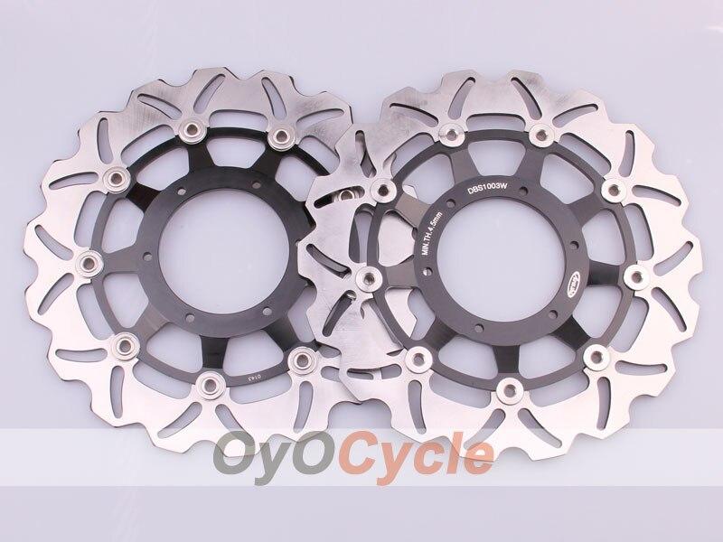 Для Honda CBR600F CBR600 F4I CB900F пара мотоциклов спереди и сзади тормозной диск ротора 2001 2002 2004 2005 2006 2007