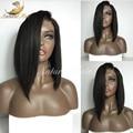 360 Парик 180% Плотность Полный Шнурок Человеческих Волос Парики Для черный Женщин 360 Кружева Фронтальная Прямой Парик 100% Человеческих Волос Парики