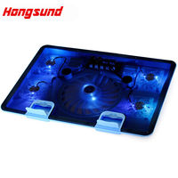 USB Notebook Cooler Cooling Laptop Cooler Pad 5 Fans For Laptop PC Base Computer Cooling Pad