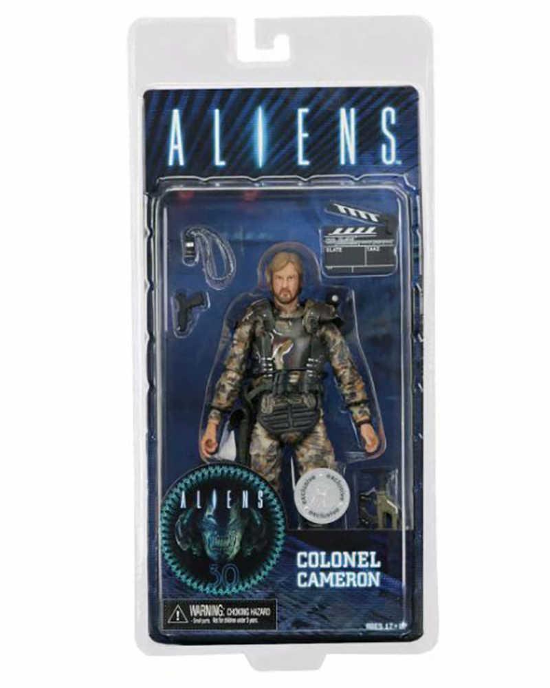 Инопланетяне против фигура хищника капитан Кэмерон ПВХ Фигурки игрушки Brinquedos