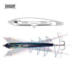 Image 4 - Królestwo przynęty powolne zanurzanie ołówek przynęta 70mm 8g, 40mm 4g sztuczne przynęty RockFishing twarda przynęta wobblers wędkarskiego