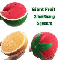 Jumbo Super Giant Soft Watermelon Orange Strawberry Peach Slow Rising Squeeze