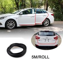 "5 M""U""Type Car Anti Collision car door rubber seal Sound Insulation weatherstrip noise insulation car auto rubber seal Strips"