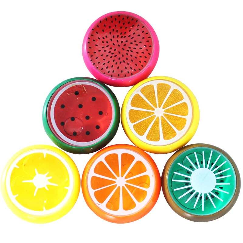Medium Fruit Slime Toy Magnetic Polymer Clay Color Crystal Slime Mud Transparent Intelligent Hand Plasticine Toy for Kids