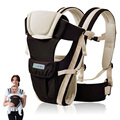 2-24 Months Breathable Multifunctional Front Facing Baby Carrier Infant Comfortable Sling Backpack Pouch Wrap Baby Kangaroo
