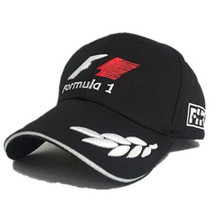 F1 Formula One racing team embroidered hat letter outdoor sports men and women baseball cap hat black casquette bone