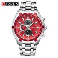 Hot Sale Design Curren Fashion Men Sports Watches Men Waterproof Quartz Analog Military Style Watch