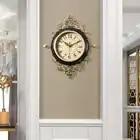 American Art di Lusso Orologio D'epoca Orologio Al Quarzo Creativo Europeo Orologio Da Parete Soggiorno Silenzioso Reloj Pared Casa 50w230 - 6