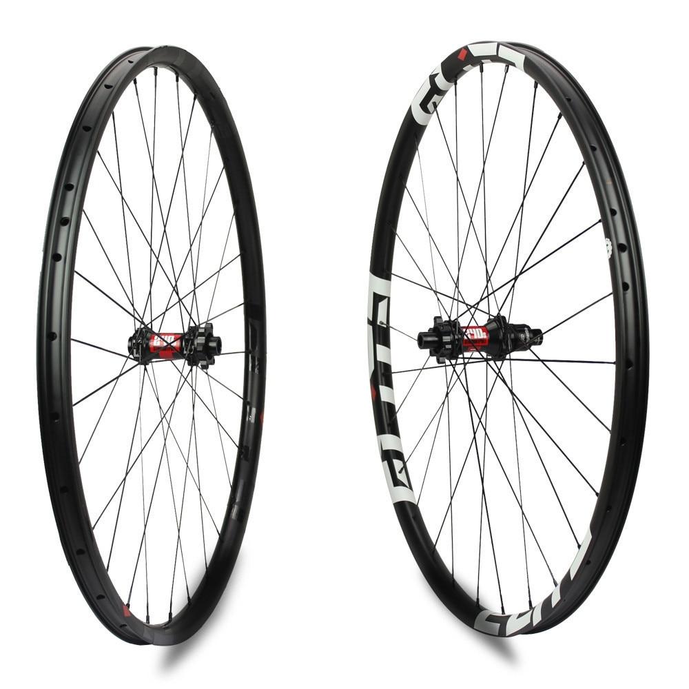 Image 2 - ELITE DT Swiss 240 Series Mountain Bike Carbon Wheel 1310g Only Tubeless Ready XC MTB 29 Wheelset Super Light WeightBicycle Wheel   -