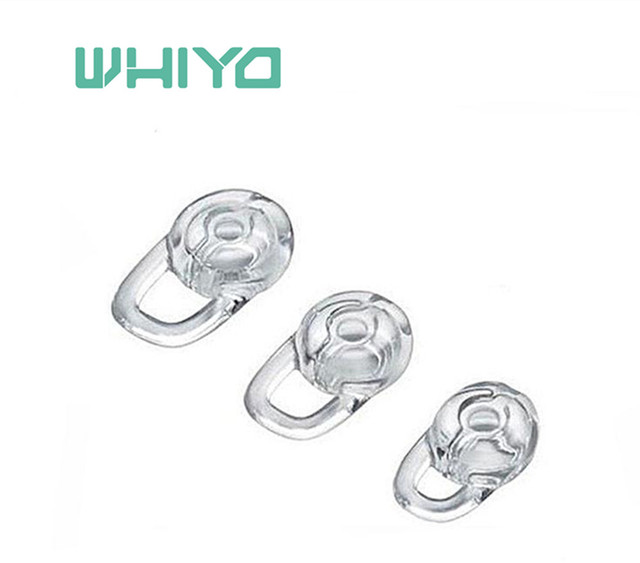 c6177ed71ae Whiyo 1 set of Silicone Replacement Earbuds Eartips Ear Tips Bud for  Plantronics Explorer 80 110