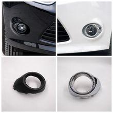 Cafoucs авто передний бампер туман свет украшения Обложка для Ford Focus 3 III 2012 2013 2013