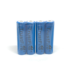 18pcs/lot TrustFire Protected TR18650 18650 2500mAh 3.7V Rechargeable Lithium Battery with PCB Power Source for LED Flashlights