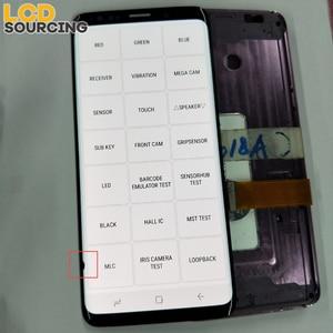 Image 4 - AMOLED Nhỏ Chết Piexl Dành Cho SAMSUNG Galaxy SAMSUNG Galaxy S9 G960 MÀN HÌNH Hiển Thị LCD S9 + Plus G965 có Khung Bộ Số Hóa Màn Hình Cảm Ứng hội Thay Thế