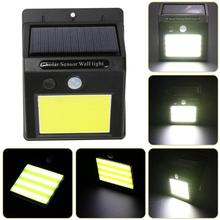 48 LED Solar Lamp with Motion Sensor – Wall Mount Outdoor Solar Light – Waterproof Garden Solar Light