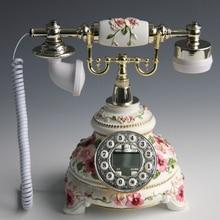 The new rural  European antique retro fashion wedding set telephone
