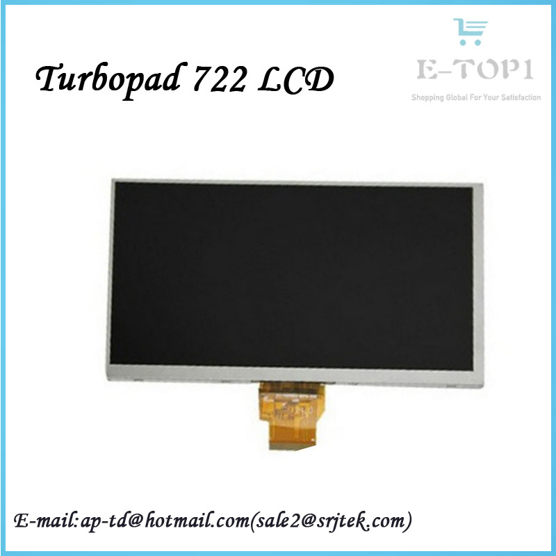 10.1 Turbopad 722 LCD Display LCD Display Screen Tablet Pc Panel Tablet Parts