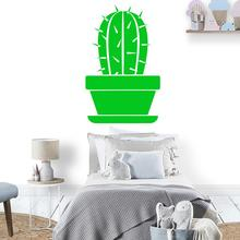 Diy Cactus Wall Sticker Self Adhesive Vinyl Waterproof Art Decal Nursery Room Decor Murals