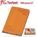 """Новейшее Высокое качество 8.0 """"чехол Для teclast x80 x80 питания Защитная Крышка Чехол Для teclast 8"""" tablet pc + free 2 подарков"""