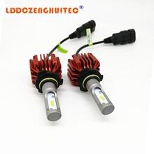 LDDCZENGHUITEC H4 H7 H11 HB2 9003 Led Auto Car Headlight S1 N1 50W 8000LM 6000K Automobile Bulb All In One CSP Lumileds Lamp