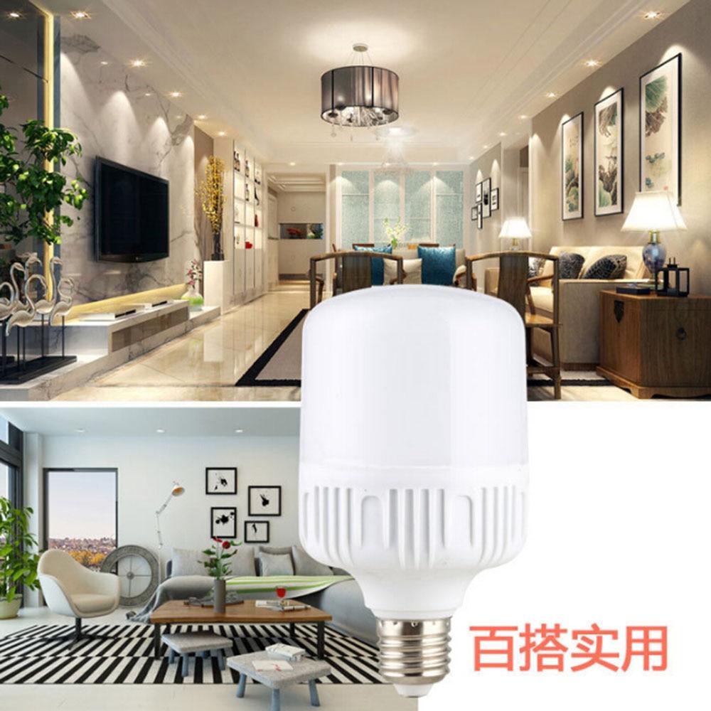 New E27 Energy Saving LED Bulb Light Lamp 5 10 15 20 30 40W Cool White High Sales in Energy Saving Fluorescent from Lights Lighting