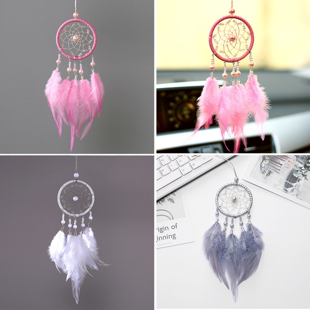 Cultures & Ethnicities 10Pcs Mini Dreamcatcher Woven Pendant Home Phone Decoration Dream Catcher Gift