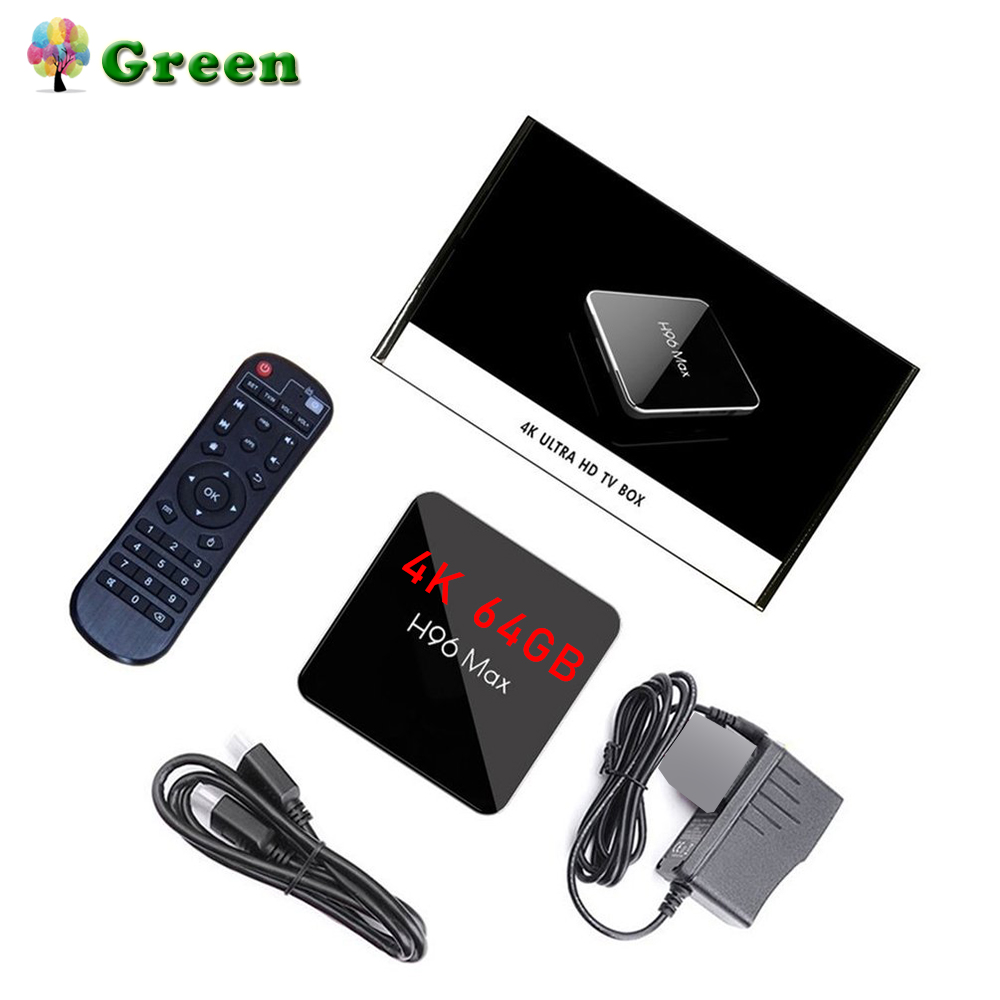 H96max-X2 TV Box 4GB 32GB Smart Set-Top Box 2.4G/5G Android 8.1 System With BlutoothH96max-X2 TV Box 4GB 32GB Smart Set-Top Box 2.4G/5G Android 8.1 System With Blutooth