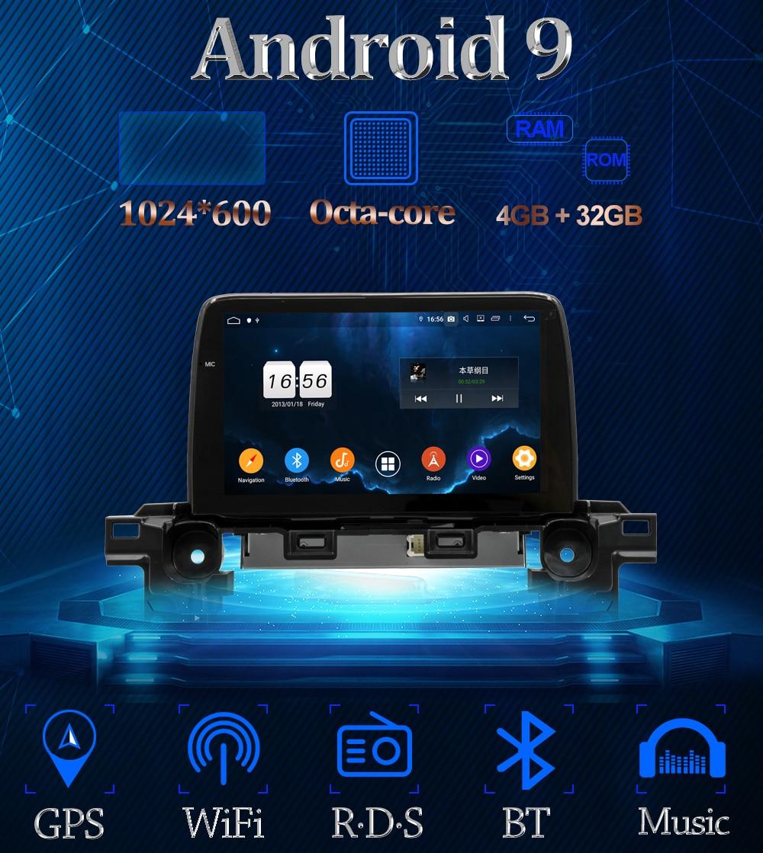 multimedia gps cu android mazda cx5 2017 2018 2019 caraudiomarket craiova