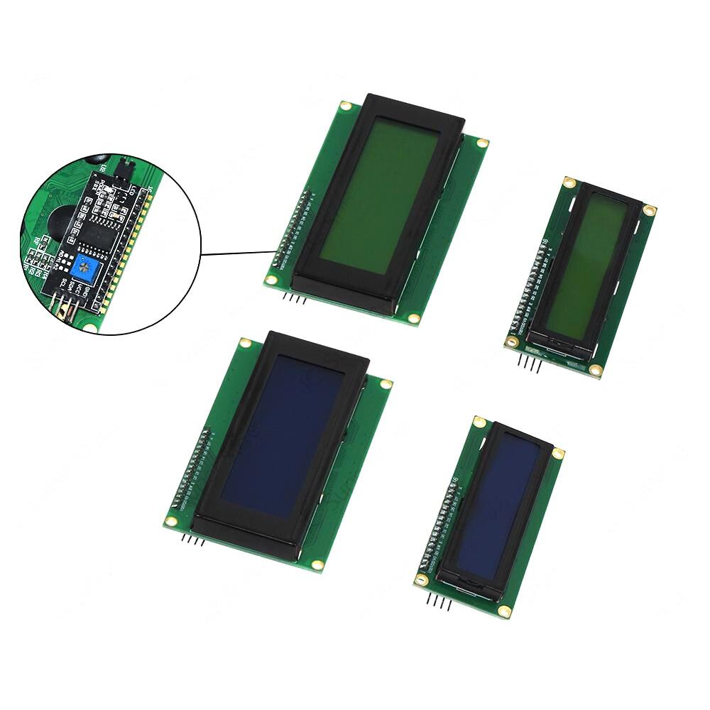 1602 + IIC/I2C LCD 1602 16x2 символ ЖК дисплей модуль HD44780 контроллер синий экран подсветка ЖК-модули      АлиЭкспресс
