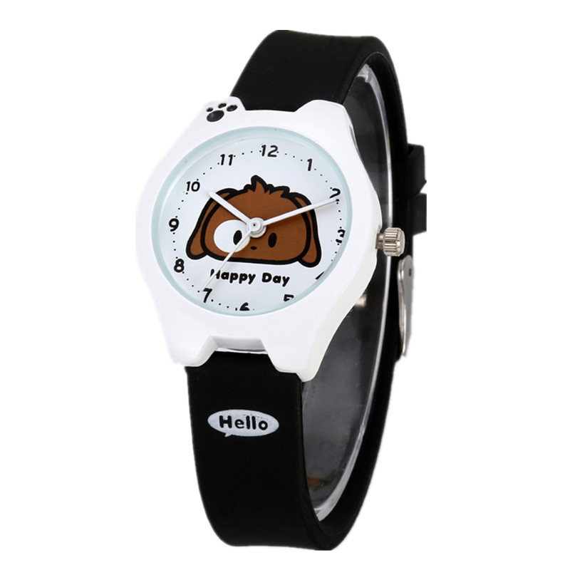 Kezzi Brands Kids Boys Girls Children Watches Cute Cartoon Watch Dog Quartz Analog Leather Strap Wristwatches Waterproof K862 free shipping cute cartoon chick children watch girl kids student fashion leather sport analog quartz wristwatches relojes k1600