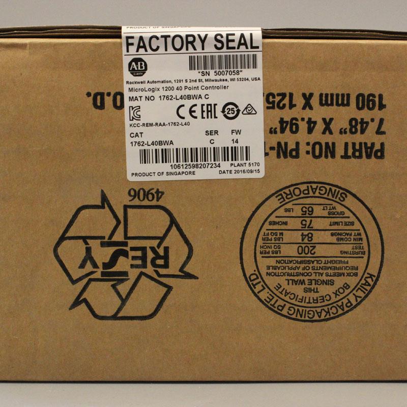 1762-L40BWA 1762L40BWA PLC Controller,New & Have in stock1762-L40BWA 1762L40BWA PLC Controller,New & Have in stock