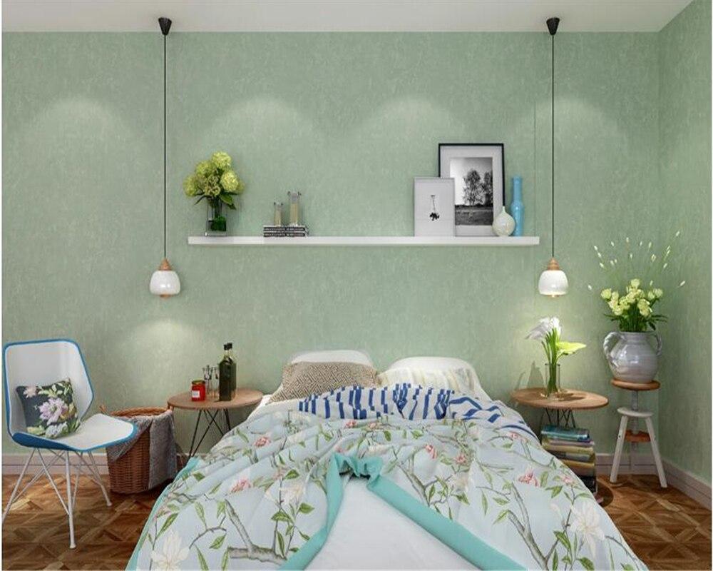 Beibehang Fashion Erweiterte Dekorative Malerei Einfarbig Moderne  Schlafzimmer Wohnzimmer Hintergrund Papel De Parede 3d Tapete