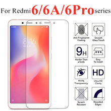 protective glass on for xiaomi redmi 6a glas ksiomi xiom xaomi red mi 6 pro redme 6 a 6 a6 6pro siaomi screenprotector tempered(China)